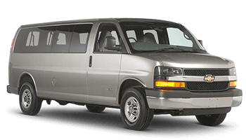 Chevrolet Express (special driver license may be needed)